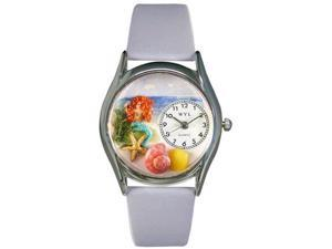 Whimsical Watches Unisex Mermaid Silver Watch Watch S1210011