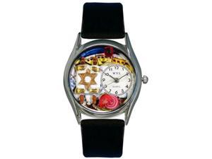 Whimsical Watches Unisex Judaism Silver Watch Watch S0710003