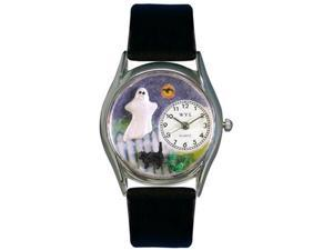 Whimsical Watches Unisex Ghost Silver Watch Watch S1220010