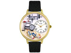 Whimsical Watches Unisex Workout Gold Watch Watch G0810019