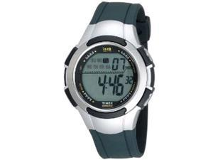 Timex Men's T5K239 Black Resin Quartz Watch with Grey Dial
