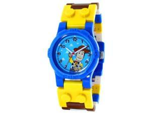 LEGO Children's 9002670 Yellow Plastic Quartz Watch with Blue Dial