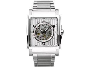 Bulova Men's 96A107 Automatic White Dial Bracelet Watch