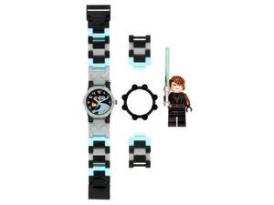 LEGO Children's 9002052 Black Plastic Quartz Watch with Black Dial