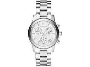 Michael Kors Small Runway Stainless Steel Chronograph Ladies Watch MK5428