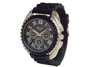 Geneva Platinum 2135.Black.Silver (Men's)