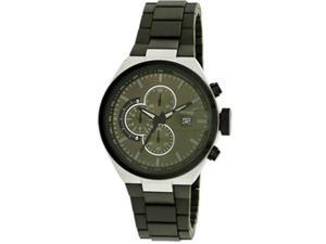 Kenneth Cole Synthetic Olive Green Dial Men's Watch #KC9003