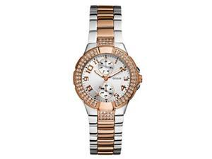 Guess Women's U13586L2 Silver Stainless-Steel Quartz Watch with Silver Dial