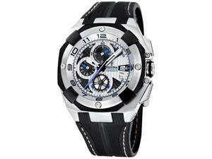 Festina Men's F16350/A Black Rubber Quartz Watch with Black Dial