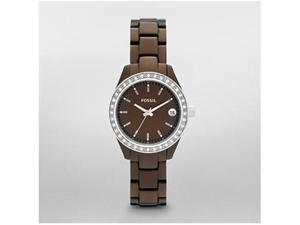 Fossil Dress Brown Dial Women's Watch #ES2963