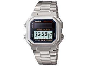 Casio Men's AL-190WD-1AV Solar Powered Stainless Steel Digital Watch