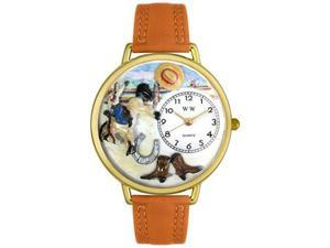 Rodeo Tan Leather And Goldtone Watch #G-0110020