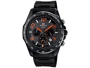 Casio Men's EFR516PB-1A4V Black Resin Quartz Watch with Black Dial