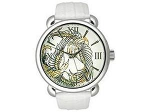 Ed Hardy Flora White Dial Women's watch #FR-WH
