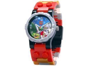 Lego Children's Kingdoms 9003400 White Plastic Quartz Watch with Blue Dial
