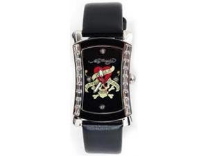 Ed Hardy Oasis Love Kills Slowly Black Dial Women's watch #OA-LK