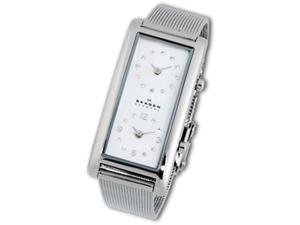 Skagen Dual Ladies Quartz Stainless Steel Watch