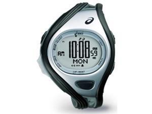 Asics Unisex Challenge CQAR0401 Grey Polyurethane Quartz Watch with Silver Dial
