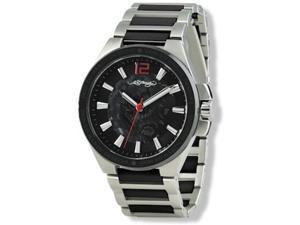 Ed Hardy Hampton Ceramic Black Dial Men's watch #HM-BK