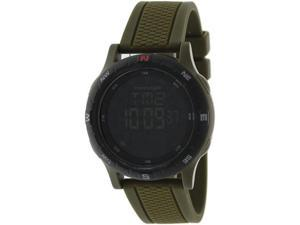 Freestyle Men's Navigator 3.0 101159 Green Silicone Quartz Watch with Black Dial
