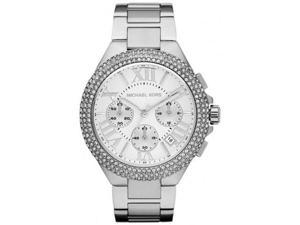 Michael Kors Women's Bella MK5634 Silver Stainless-Steel Quartz Watch with Silver Dial