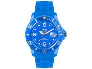 Ice-Watch Unisex Ice-Flashy SS.NBE.U.S.12 Blue Plastic Quartz Watch with Blue Dial