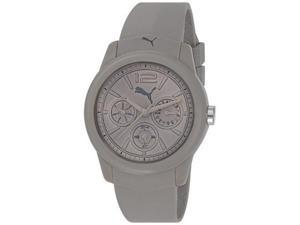 Puma Men's Motor PU102802003 Grey Plastic Quartz Watch with Grey Dial