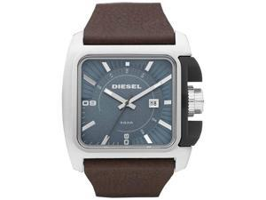 Men's Diesel Leather Band Watch DZ1542