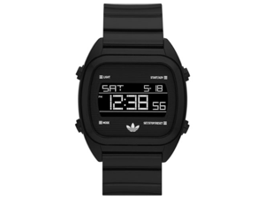 Adidas Unisex Sydney ADH2726 Black Polyurethane Quartz Watch with Digital Dial