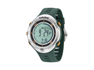 Timberland Men's Washington Summit 13386JPGNS/01 Green Plastic Automatic Watch with Digital Dial