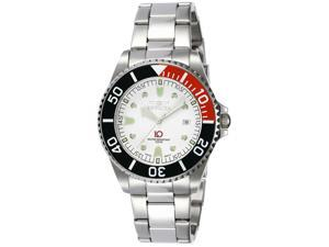 Invicta Men's 3289 Stainless-Steel Quartz Watch with White Dial