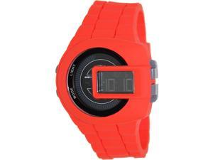Diesel Men's DZ7276 Red Silicone Quartz Watch with Digital Dial