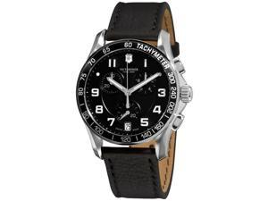 Victorinox Swiss Army Alliance Chronograph Black Strap Mens Watch 241493