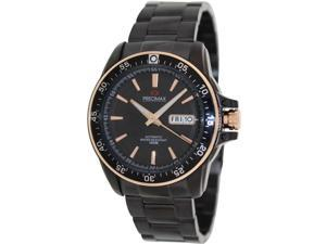 Precimax Propel Automatic PX13197 Men's Black Dial Stainless Steel Automatic Watch