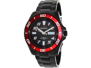 Precimax Aqua Classic Automatic PX13224 Men's Black Dial Stainless Steel Analog Watch