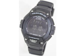 Casio Men's Sport WS220-1BV Black Rubber Quartz Watch with Digital Dial