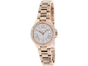 Michael Kors MK3253 Camille White Dial Rose Gold-tone Women's Watch
