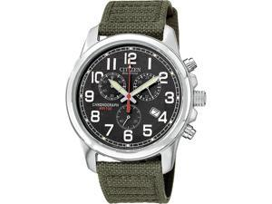 Citizen Eco-Drive Chronograph Mens Strap Watch AT0200-05E