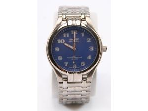 Sharp Analog Silver Mens Watch