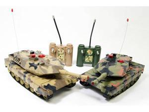 Infra-Red Laser Battle Remote Control RC Tank Set