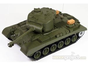 Snow Leopard w/Sound and Smoke Remote Control RC Airsoft Tank