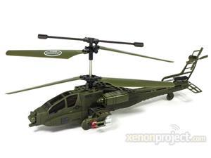 S009G AH-64 Apache Gyro Remote Control RC Helicopter
