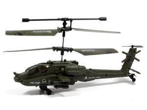 U803 Mini Apache Remote Control RC Gyro Helicopter