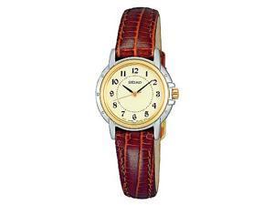 Seiko Women's Leather watch #SXGA02