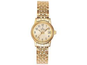 Bulova Emeritus Women's Quartz Watch 97M52