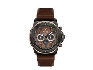 Bulova Men's Marine Star Chronograph Strap Watch 98B128