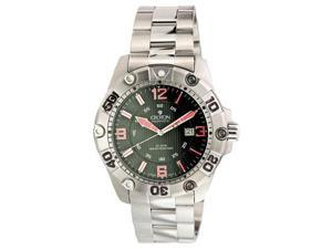 Croton CA301190SSBK Men's Aquamatic Extreme Black Dial Quartz Dive Watch