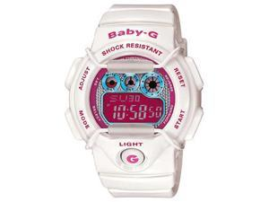 Casio BG1005M-7 Women's Baby-G White Resin World Time Watch