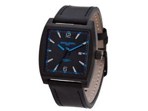 Jorg Gray Leather Black Dial Men's watch #JG5200-16