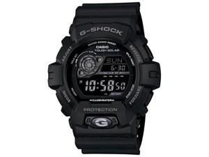 Casio GR8900A-1 Men's G-Shock Black Resin Tough Solar Digital Dive Watch